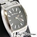 ベンシャーマン Ben Sherman ブラック フェイス 腕時計 メンズ 【送料無料】 モッズ ファッション ステンレス スティール Stainless Steel 時計 アナログ ウォッチ UK モッズ r732 プレゼント ギフト 父の日