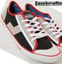 ランブレッタ Lambretta キャンバス スニーカー メンズ レディース 【送料無料】 モッズ ファッション Canvas Shoes シューズ 靴 スウェード Suede PU ブラック Black Jamlo UK モッズファッション lamjamloblack *24.5 *25.5 *26.5 *27.5 *28.5