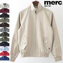 メルクロンドン メンズ ハリントンジャケット Merc London 12色 スイングトップ ハリントン ブルゾン ギフト トラッド