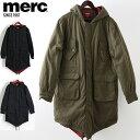 メルクロンドン メンズ モッズコート Merc London モッズパーカ 3色 ネイビー グリーン ブラック モッズファッション プレゼント ギフト