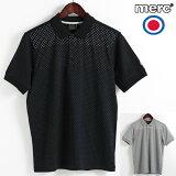 メルクロンドン Merc London ポロシャツ ポロ ドット 水玉 2色 ブラック グレー メンズ W1 プレミアム モッズファッション プレゼント ギフト