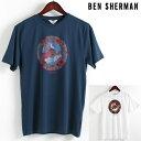40%OFF セール SALE ベンシャーマン Ben Sherman Tシャツ ヒーロー ターゲットマーク 2色 メンズ 2018 新作 メンズ プレゼント ギフト