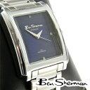 訳あり ベンシャーマン Ben Sherman ブルー フェイス 腕時計 メンズ アウトレット ギフト