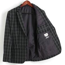ベンシャーマンBenShermanブレザージャケットテーラードジャケットウールチェッカー18SS新作グレーメンズプレゼントギフト