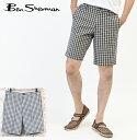 ベンシャーマン Ben Sherman ショーツ 短パン ハウスギンガムチェック メンズ モッズ プレゼント ギフト