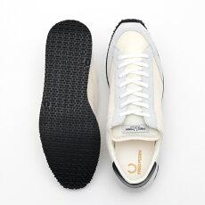 フレッドペリーFredPerryスニーカーシューズヴィンソンナイロンツイル17AW新作ホワイト軽量日本製メンズ靴プレゼントギフト
