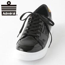 AdmiralメンズスニーカーアドミラルイノマーシャインINOMERSHINEシューズブラックゴールドレディースギフトプレゼント