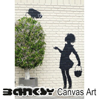 "Banksy 牆藝術藝術面板框架藝術 BANKSY 帆布 Banksy""女孩觀景窗""30.5 × 21.0 畫繪畫藝術畫布油畫藝術木倫敦塗鴉藝術塗鴉 bgcamera30"