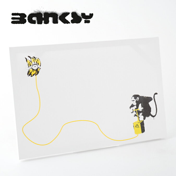 絵画, その他  SALE BANKSY CANVAS ART Monkey Banana Bomb 60cm 40cm