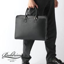 ボルドリーニセレリアBoldriniSelleriaカーフレザー6623ビジネスブリーフケースビジネスバッグ21SS新作メンズ40×29.5×10cmブラックカーフレザーイタリア製ハンドメイドプレゼントギフト