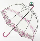 FULTON フルトン 傘 バードケージ オーキッドフェア 長傘 花柄 正規 レディース かさ プレゼント ギフト
