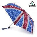 フルトン FULTON 傘 レディース 折りたたみ 軽量 Tiny デイジージャック 小型 ユニオンジャック レディース 正規 かさ イギリス ロンドン プレゼント ギフト