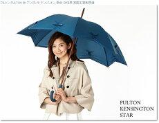 フルトンFULTON傘レディースKensingtonStar15AW長傘女性用かさSatinDreamサテンドリーム