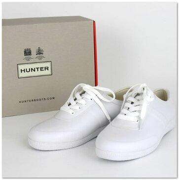 【ハンター HUNTER ラバースニーカー レインシューズ】 国内正規品 ローカット 長靴 オリジナル メンズ レディース