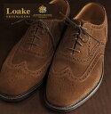 Loake England ローク 革靴 メンズ ブローグシューズ G 4E 202 ギフト