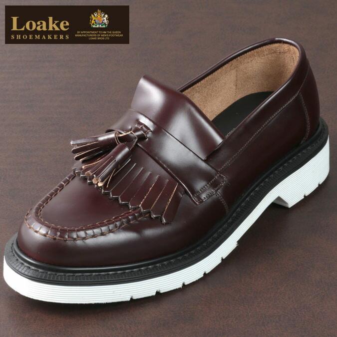 Loake England メンズ ロークイングランド タッセルローファー 革靴 オックスブラッド ビジネス ローファー F 3E 623 BRIGHTON SHOEMAKERS ブライトン 革靴 レディース プレゼント ギフト画像