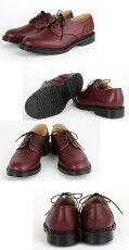 SOLOVAIRソロヴェアー革靴ギブソンレザーシューズダムソンプレーントウプレインダービーメンズレディースギフト紳士男性ビジネス靴イギリスモッズ