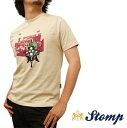 ストンプ Stomp Tシャツ T シャツ New Brighton Pier モッズスクーター ベージュ Beige コットン UK モッズ scm018bbeige *xs *s プレゼント ギフト 父の日