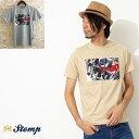 ストンプ Stomp Tシャツ T シャツ Union Mirrors モッズスクーター ユニオンジャック 2色 メンズ モッズファッション プレゼント ギフト 父の日