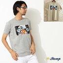 ストンプ Stomp Tシャツ T シャツ Lamps モッズスクーター ユニオンジャック 2色 メンズ モッズファッション プレゼント ギフト 父の日