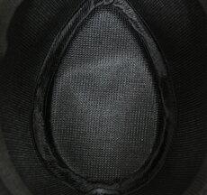 ATLANTISアトランティスハット帽子GEORGENEROGEORNRブラック黒ラインストライプUKモッズインディーズHatBenShermanベンシャーマン