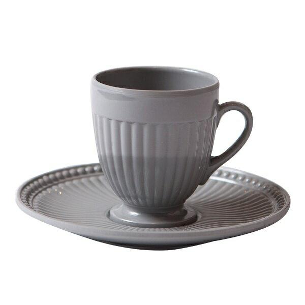 BORGO DELLE TOVAGLIE(ボルゴ) コーヒーカップ スチールグレイ