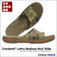 crocs【クロックス】Crocband LoPro Realtree Xtra Slide/クロックバンド ロープロ リアルツリー エクストラ スライド※※