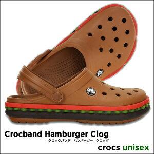 クロックス crocs サンダル【送料無料】【返品交換無料】crocs【クロックス】Crocband Hamburge...