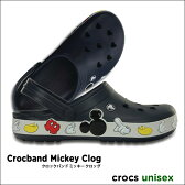 crocs【クロックス】 Crocband Mickey Clog / クロックバンド ミッキー クロッグ※※ メンズ レディース サンダル ディズニー ペア