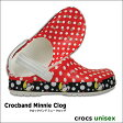 crocs【クロックス】Crocband Minnie Clog / クロックバンド ミニー クロッグ※※ メンズ レディース サンダル ディズニー ペア