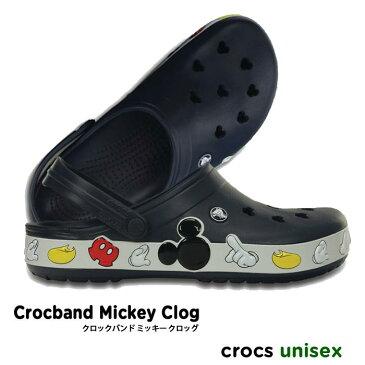 crocs【クロックス】 Crocband Mickey Clog / クロックバンド ミッキー クロッグ ※※ メンズ レディース サンダル ディズニー ペア