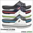 crocs【クロックス】Crocband 2.0 Slide / クロックバンド 2.0 スライド メンズ レディース サンダル スポーツサンダル オフィス スリッパ シャワーサンダル ※※