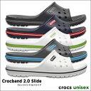 crocs【クロックス】Crocband 2.0 Slide / クロ...