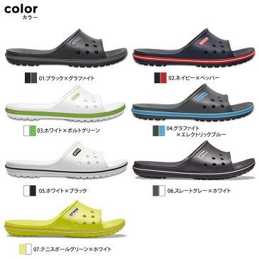 crocs【クロックス】Crocband 2.0 Slide / クロックバンド 2.0 スライド ※※ メンズ レディース サンダル スポーツサンダル オフィス スリッパ シャワーサンダル ビーチサンダル