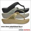 crocs【クロックス】crocs slone embellished flip w / クロックス スローン エンベリッシュド フリップ w※※
