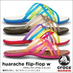 【送料無料】【返品交換無料】crocs【クロックス】 Huarache Flip Flop W/ワラチェ フリップフ...