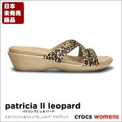 【送料無料】【返品交換無料】crocs【クロックス】 Patricia2 Leopard/パトリシア2 レオパード...