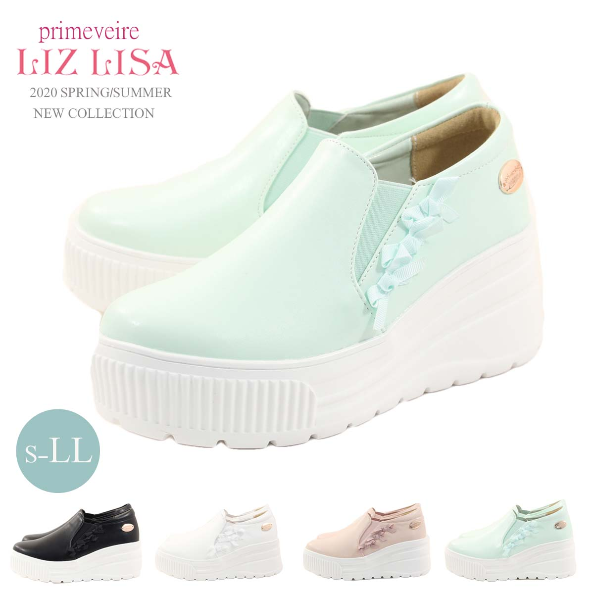 レディース靴, スニーカー primevere LIZ LISA plz1407