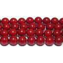 クーポン対象  赤さんご丸玉8mmB