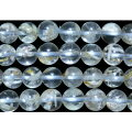 ガーデン水晶丸玉8mm(ホワイトスノー)B