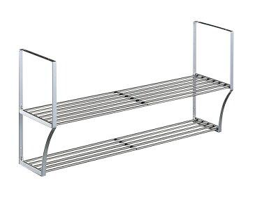 【タクボ】 パイプ棚2段Sタイプ幅90cm