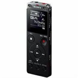 ☆ソニー リニアPCM対応ICレコーダー 8GB(ブラック) ICD-UX565FBC