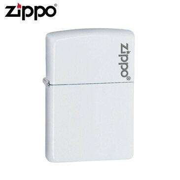 ZIPPO(ジッポー) オイルライター 214ZL ホワイトマット「他の商品と同梱不可」
