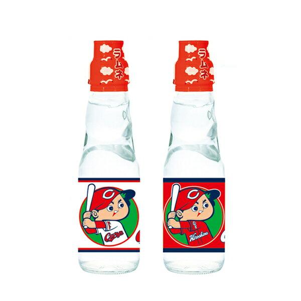【代引不可】齋藤飲料工業 広島カープ ラムネ 200ml瓶×30本「他の商品と同梱不可」
