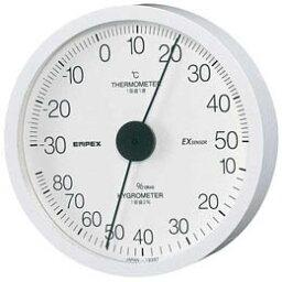 ☆EMPEX 温度・湿度計 エクストラ 温度・湿度計 壁掛用 TM-6201ホワイト