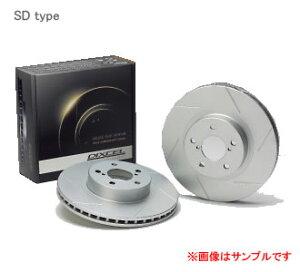 DIXCEL ディクセル ブレーキローター SD フロント SD3218112Sニッサン シルビア S15 TURBO 99...