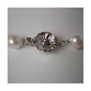 ◇和珠本真珠7.5~8.0mmパールネックレス&パールイヤリング
