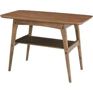 ◇コーヒーテーブルS【Tomte】トムテ木製(天然木)棚収納付きTAC-227WAL