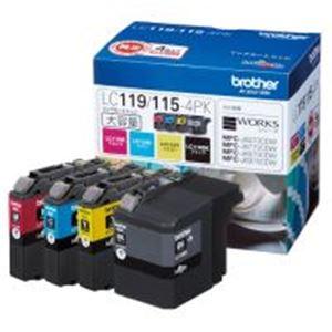 ◇ブラザー工業(BROTHER)インクカートリッジLC119/115-4PK4色