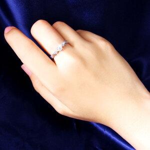 ◇ハートダイヤリング指輪セブンストーンリング19号